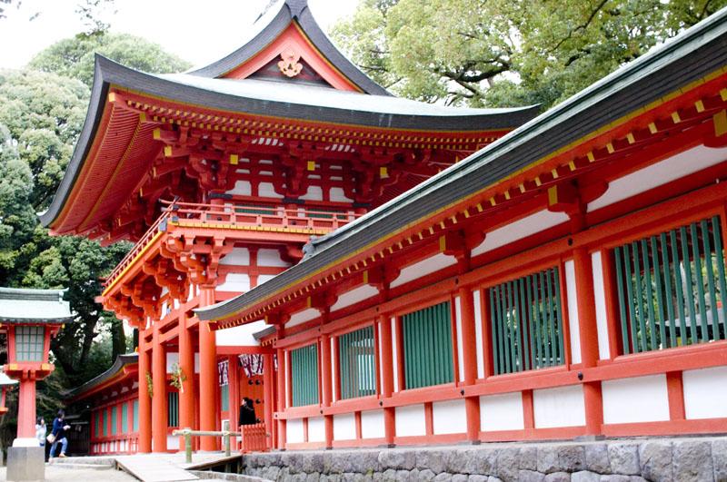 ขอพรความรักกับศาลเจ้าฮิกาวะ (Hikawa Shrine)